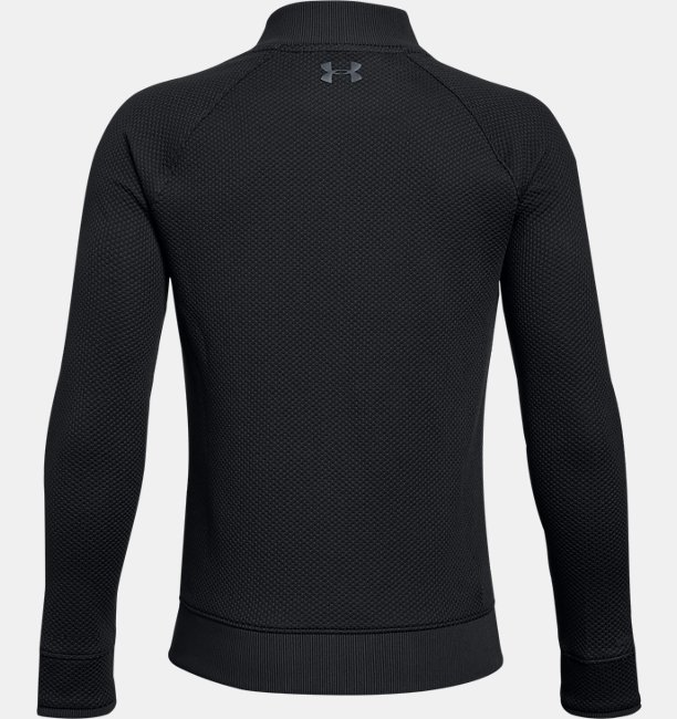 Boys UA Storm SweaterFleece Hybrid Full Zip Jacket